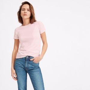 Everlane Pink Cotton Crew T Shirt (NWOT)